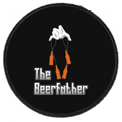 The Beerfather Round Patch Designed By Wizarts