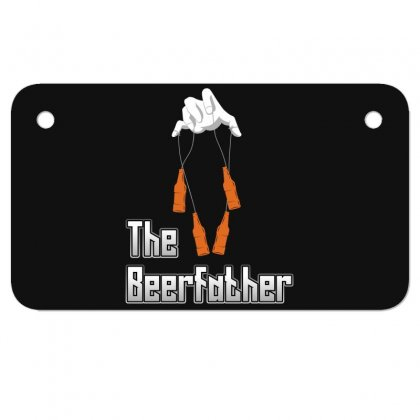 The Beerfather Motorcycle License Plate Designed By Wizarts