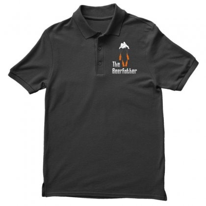 The Beerfather Men's Polo Shirt Designed By Wizarts