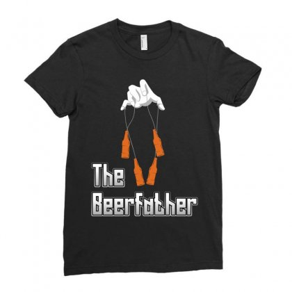 The Beerfather Ladies Fitted T-shirt Designed By Wizarts