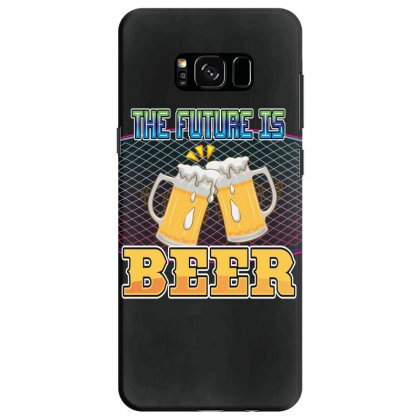 The Future Is Beer Samsung Galaxy S8 Case Designed By Wizarts