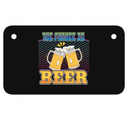 The Future Is Beer Motorcycle License Plate Designed By Wizarts