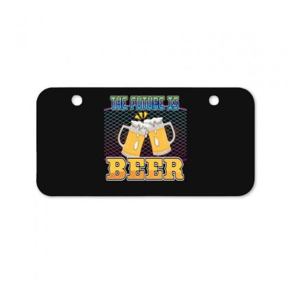 The Future Is Beer Bicycle License Plate Designed By Wizarts