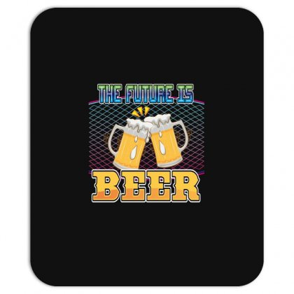 The Future Is Beer Mousepad Designed By Wizarts