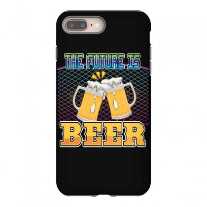 The Future Is Beer Iphone 8 Plus Case Designed By Wizarts