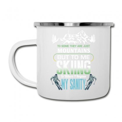 To Some They Are Just Mountains But To Me Skiing Camper Cup Designed By Wizarts