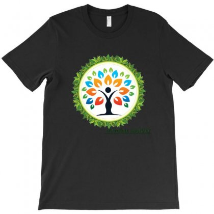 Natural Beauty Logo Design T-shirt Designed By Digital Kamal
