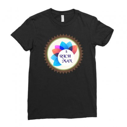 Logo Of Roh Man Ladies Fitted T-shirt Designed By Digital Kamal