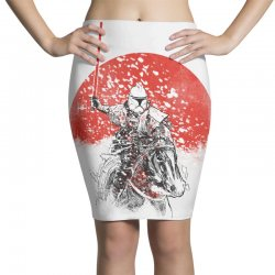 samourai trooper Pencil Skirts | Artistshot
