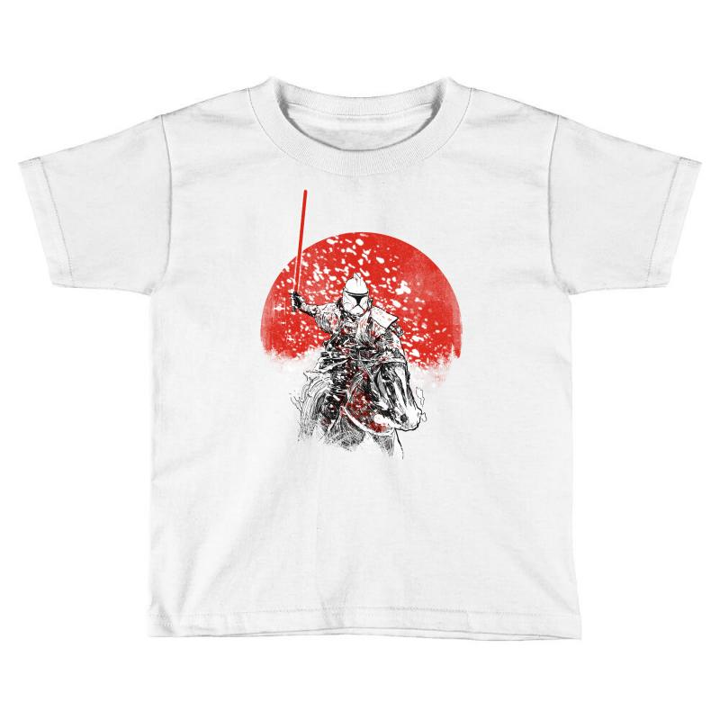 Samourai Trooper Toddler T-shirt | Artistshot