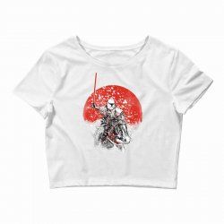 samourai trooper Crop Top | Artistshot