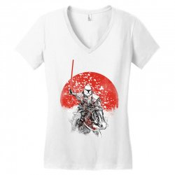 samourai trooper Women's V-Neck T-Shirt | Artistshot