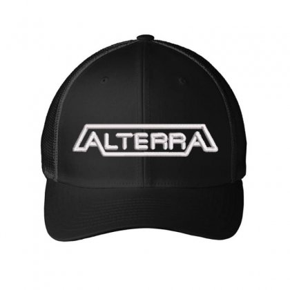 Alterra Embroidered Mesh Cap Designed By Madhatter