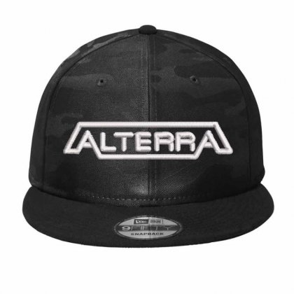 Alterra Camo Snapback Designed By Madhatter