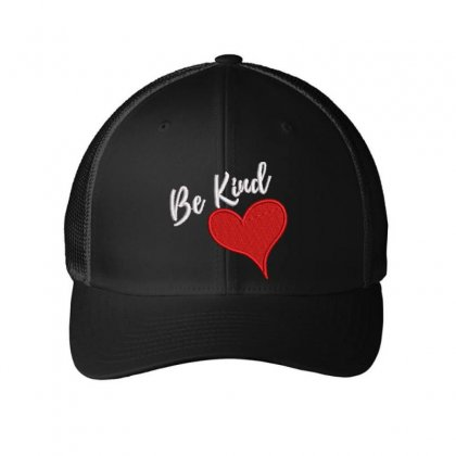 Be Kind Embroidered Mesh Cap Designed By Madhatter