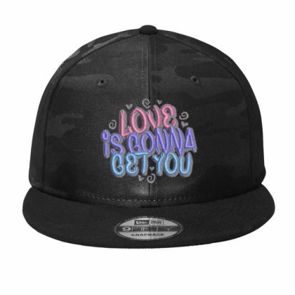 Love Camo Snapback Designed By Madhatter