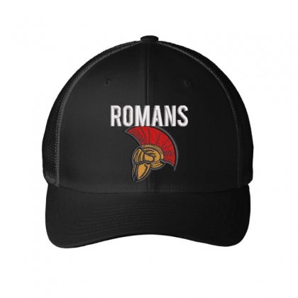 Romans Embroidered Mesh Cap Designed By Madhatter