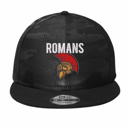 Romans Camo Snapback Designed By Madhatter