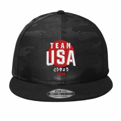 Team Usa 2020 Camo Snapback Designed By Madhatter