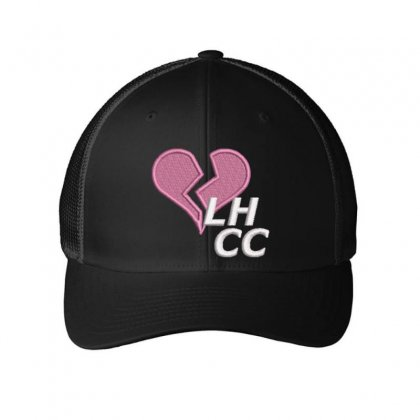 Broken Heart Embroidered Mesh Cap Designed By Madhatter