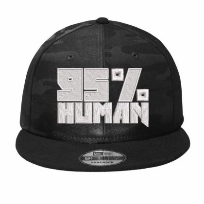 95% Human Camo Snapback Designed By Madhatter