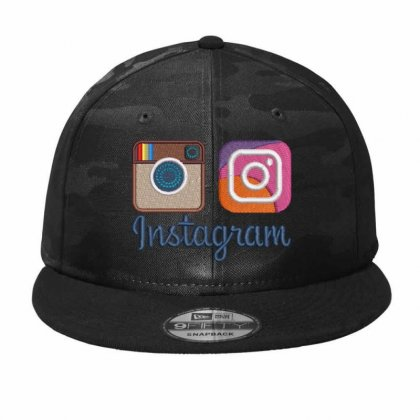 Instagram Camo Snapback Designed By Madhatter