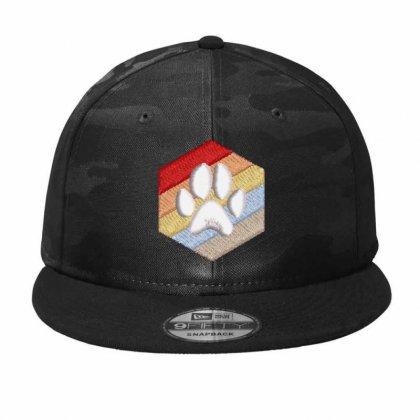 Paw Camo Snapback Designed By Madhatter