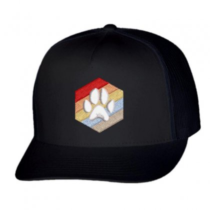 Paw Trucker Cap Designed By Madhatter