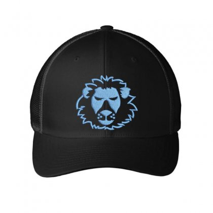 Leo Embroidered Mesh Cap Designed By Madhatter
