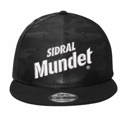 Sidral Mundet Camo Snapback Designed By Madhatter