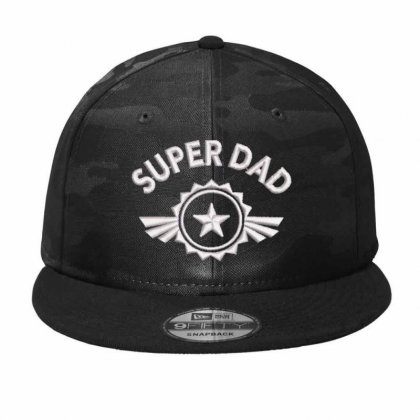 Super Dad Camo Snapback Designed By Madhatter