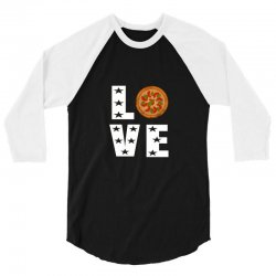 Love pizza 3/4 Sleeve Shirt | Artistshot