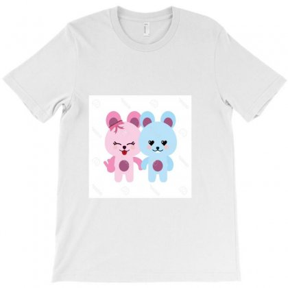 Unique Bears In Love Cute Animal Icon Image Vector Illustration Design T-shirt Designed By Linda