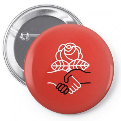 Democratic Socialists Of America Pin-back Button Designed By Planetshirts