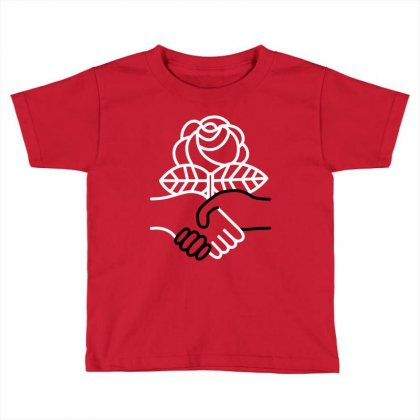 Democratic Socialists Of America Toddler T-shirt Designed By Planetshirts