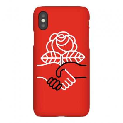 Democratic Socialists Of America Iphonex Case Designed By Planetshirts