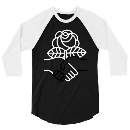 Democratic Socialists Of America 3/4 Sleeve Shirt Designed By Planetshirts