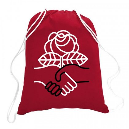 Democratic Socialists Of America Drawstring Bags Designed By Planetshirts
