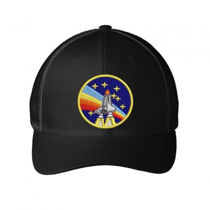 Rocket Embroidered Mesh Cap Designed By Madhatter
