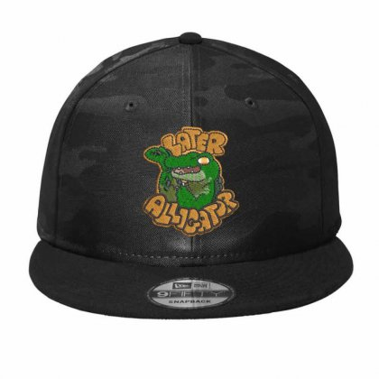 Alligator Camo Snapback Designed By Madhatter