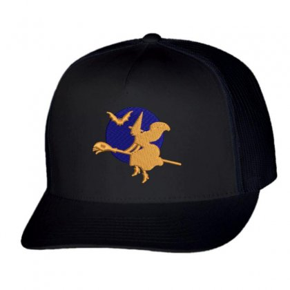 Magical Night Trucker Cap Designed By Madhatter