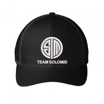 Team Solomid Embroidered Mesh Cap Designed By Madhatter