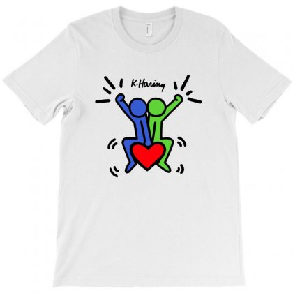 Keith Haring - Love Each Other T-shirt Designed By Jetstar99