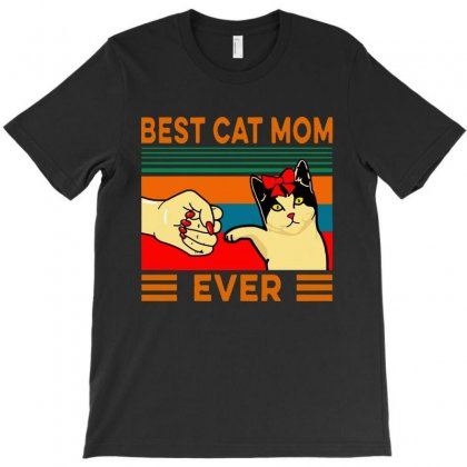 Best Cat Mom Ever T-shirt Designed By Delicous
