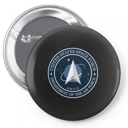 Space Force Logo Pin-back Button Designed By Delicous