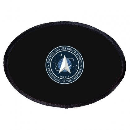 Space Force Logo Oval Patch Designed By Delicous