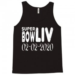 super bowl liv 2020   white Tank Top | Artistshot