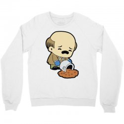 the office   kevin malone Crewneck Sweatshirt | Artistshot
