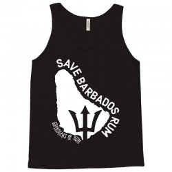 the save barbados rum   white style Tank Top | Artistshot