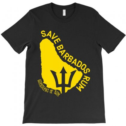 The Save Barbados Rum T-shirt Designed By Delicous